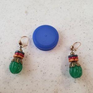 Vintage hook earrings
